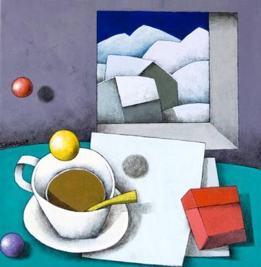 Acrílico sobre lienzo 30x30 cm. 2008