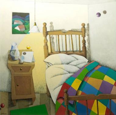 Acrílico sobre lienzo 100x100 cm. 2010