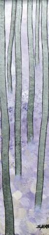 Técnica mixta sobre tabla 15 x 50 cm. 1995