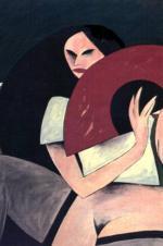 Técnica mixta sobre lienzo 90 x 116 cm. 1988