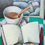 Técnica mixta sobre lienzo